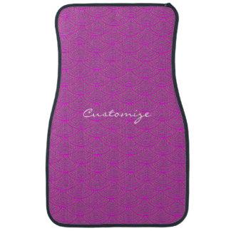 mermaid scales Thunder_Cove purple/pink Car Mat