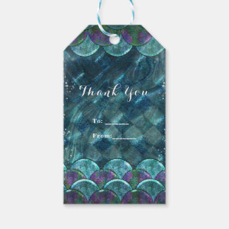 Mermaid Scales Under the Sea Birthday Party Favor