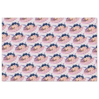 "MERMAID SEA2 CARTOON 20"" x 30""- 18lb Tissue Paper"