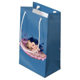 MERMAID SEA FAIRY CARTOON Gift Bag  SMALL GLOSSY