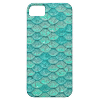 Mermaid Sea Green Scales iPhone 5 Cases