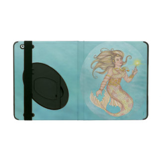 Mermaid Sea Queen Fia Fantasy iPad Cover