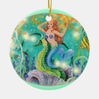 Mermaid & Seahorse Christmas Ornament Gift