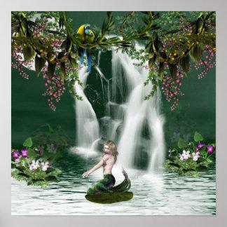Mermaid Shower Poster