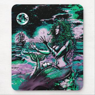 Mermaid Siren Atlantis Pearl Mouse Mat
