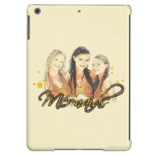 Mermaid Sketch Cover For iPad Air