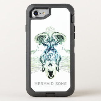 Mermaid Song Sea Green Ocean Blue Love Romance ADD OtterBox Defender iPhone 7 Case