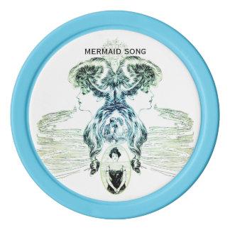 Mermaid Song Sea Love Romance Golf Ball Marker Poker Chips