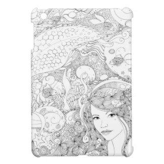 Mermaid splash iPad mini cover