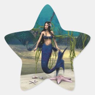 Mermaid Star Sticker