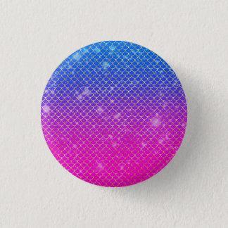 Mermaid Stars 3 Cm Round Badge