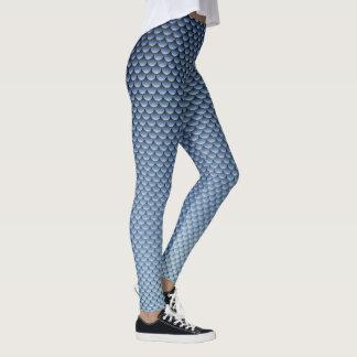 Mermaid Style ~ Dark Blue Leggings