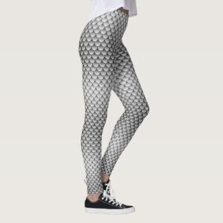 Mermaid Style ~ Silver Tail Leggings