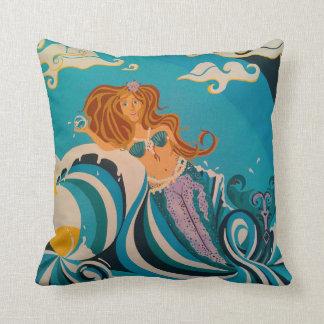 Mermaid Sunrise Cushion
