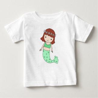 Mermaid T-shirt Cute Mermaid Girl Baby shower gift