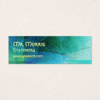 Mermaid Tails Abstract 1 Mini Business Card