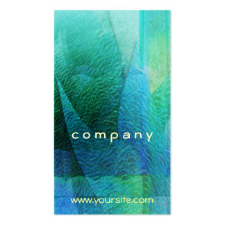 Mermaid Tails Abstract 1 Pack Of Standard Business Cards
