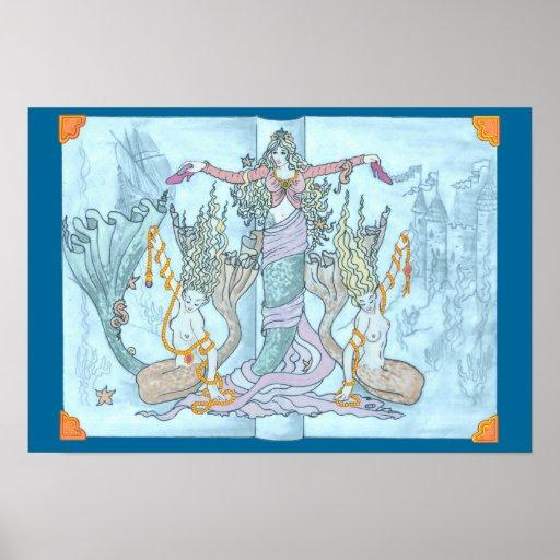 Mermaid Tales Print