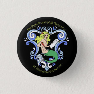 Mermaid Tavern (Color) 3 Cm Round Badge