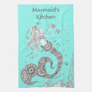 Mermaid Tea Towel