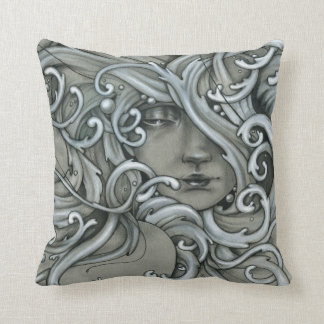 Mermaid Throw Pillow #1