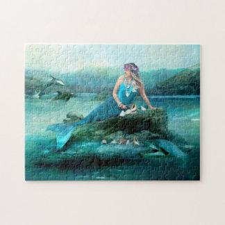 Mermaid Treasures Jigsaw Puzzle