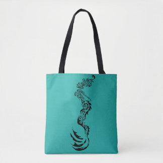 Mermaid Tribal Tote Bag