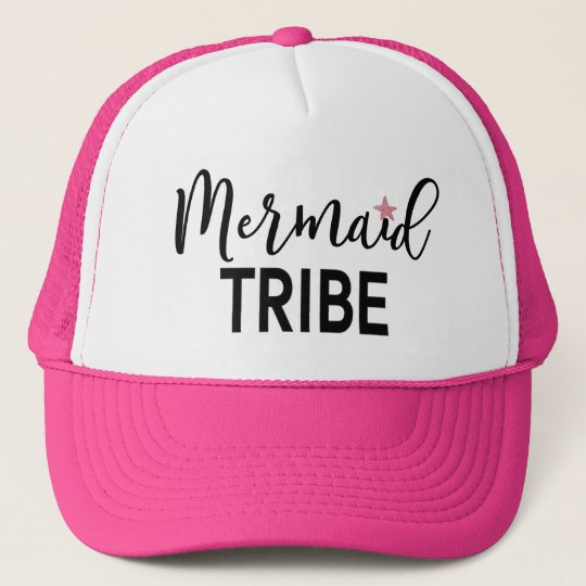 Mermaid Tribe Bachelorette Trucker Hat