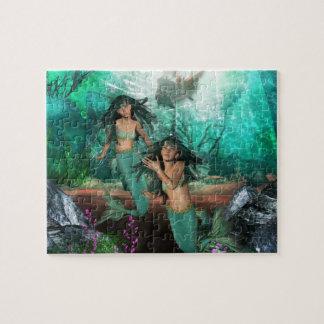 Mermaid Twins  Puzzle
