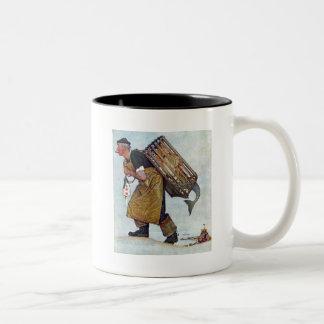 Mermaid Two-Tone Coffee Mug