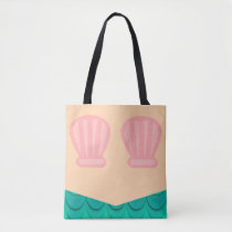 Mermaid Undersea Life Tote Bag