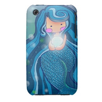 Mermaid with bright pearl  iPhone 3G/3GS Case iPhone 3 Cases