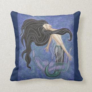 Mermaiden Pillow - Mermaid Art