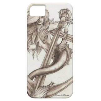 Mermaids and Anchors iPhone 5 Cases