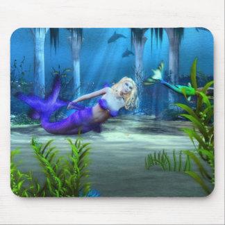 Mermaid's At Play Mouse Mat