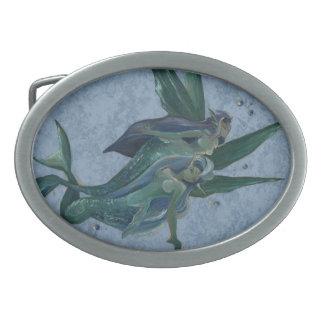 Mermaids belt buckle