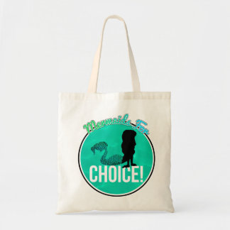 Mermaids for Choice! Tote Bag
