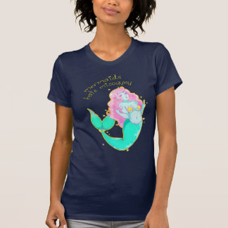 Mermaids Hate Misogyny T Shirt