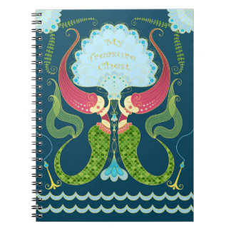 mermaids in shell journal