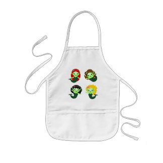 Mermaids Kids Apron