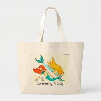 Mermaids Large Tote Bag