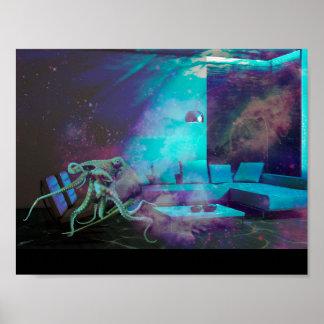 Mermaid's Living Room Poster