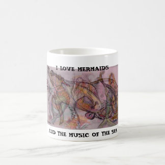 MERMAIDS & MUSIC COFFEE MUG