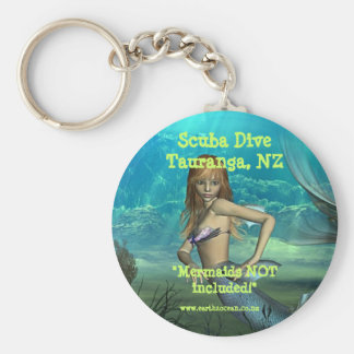 'Mermaids NOT Included!' Keychain