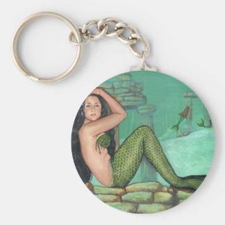 Mermaid's Playground Key Ring