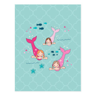 Mermaids Postcard