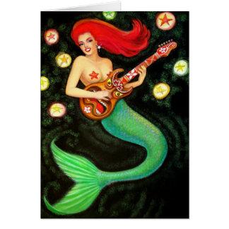 Mermaids Rock! Card