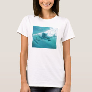 mermaids surfing T-Shirt