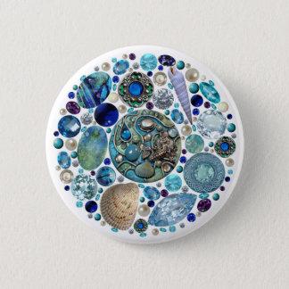 Mermaid's Treasure 1 6 Cm Round Badge