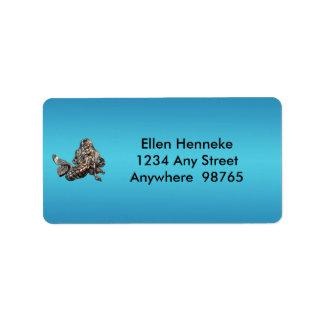 Mermaid's Treasure 1 Address Label